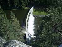 Malá přehrada/hráz - Vitice
