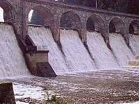 Velká Sedlická přehrada/hráz