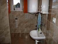 koupelna - chata k pronájmu Slavětín