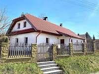 Chalupa k pronajmutí - dovolená Žďársko rekreace Vojnův Městec