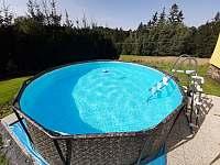 Bazén pro 10 dospělích osob na párty.Objem 9000 litrů vody.Písková filtrace. - Maksičky