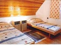 Ložnice č. 1 - pronájem chaty Popelištná