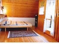 Ložnice č. 2 - chata k pronajmutí Popelištná