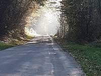 Cesta k lomu Kaňon - chalupa k pronájmu Leštinka