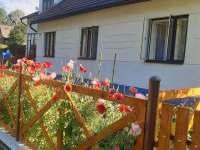 Ubytování Leštinka - máky kvetou - chalupa ubytování Leštinka