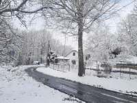 Zima a chaloupka - Leštinka