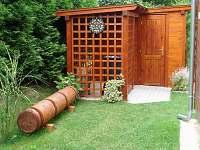 Kůlnička - chata ubytování Čejov