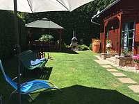 Zahrada chaty - k pronájmu Čejov