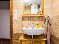 koupelna - pronájem chalupy Kuklík