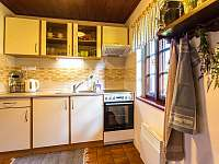 kuchyňka - chalupa k pronájmu Kuklík