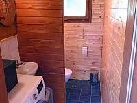 samostatné WC - vchod z terasy - Police