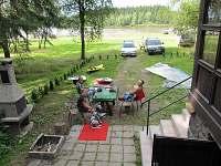 pohled z chaty - ubytování Škrdlovice