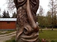 socha na hrázy - chata k pronájmu Škrdlovice