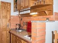 malý apartmá kuchyňka - Pohořílky