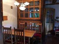 malý apartmán - jídelna - Pohořílky