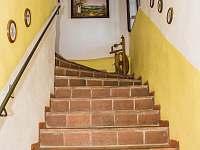 vnitžřní schodiště k penzionu - Pohořílky