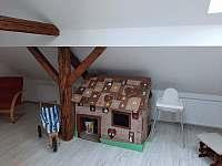 dětský koutek - apartmán ubytování Horní Bradlo - Lipka
