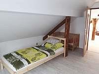 ložnice - apartmán k pronajmutí Horní Bradlo - Lipka