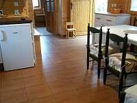 kuchyň - chata k pronajmutí Dalešická Přehrada