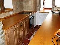 Apartmán - kuchyňka - pronájem Proseč pod Křemešníkem