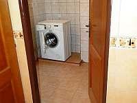 Technická místnost - automatická pračka - Proseč pod Křemešníkem