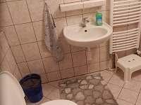 Levá koupelna v prostředním patře