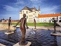 klášterní zahrady Litomyšl - chalupa k pronájmu Újezdec