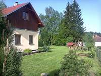 Chata k pronajmutí - dovolená Rybník Kozlov rekreace Bohdalín