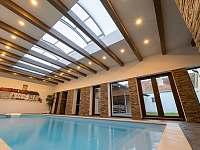 bazén 8x3x1,6m - chalupa ubytování Police