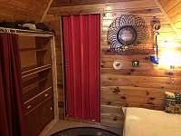 ložnice2 - pronájem chaty Velké Dářko