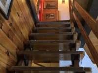 schodiště do podkroví - Velké Dářko