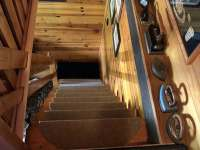 schodiště z pokroví - Velké Dářko