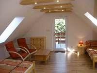 Podkrovní pokoj - ložnice
