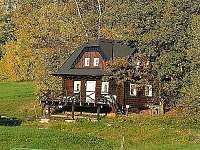 Srub ubytování v obci Štičí