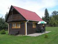 Chata k pronajmutí - dovolená  Jasné Pole - Rybník Januš rekreace Slavětín