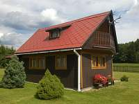 Chata k pronajmutí - okolí Hluboké u Krucemburku