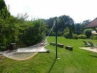 houpací síť - pronájem chaty Řemenov