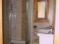 koupelna - chata k pronájmu Řemenov