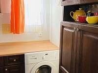 Možnost využití pračky - Želiv - Brtná
