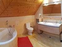 Koupelna č.2 - 1.NP - chalupa k pronájmu Kněževes - Veselka