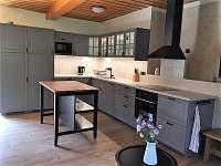 kuchyňská linka - chalupa ubytování Kuklík