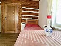 ložnice přízemí - chalupa ubytování Kuklík