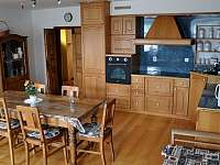 Kuchyně - chalupa ubytování Obrataň - Sudkův Důl