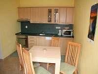 Kuchyň + jídelní stůl , Apartmán I.(přízemí)