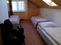 3 ložnice v patře, průchozí s pokojem 2. - Moravské Křižánky