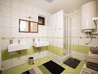 Apart. 2 - koupelna - chalupa k pronajmutí Kamenice nad Lipou - Březí