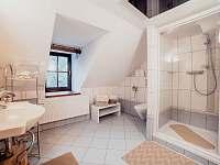 Apart. 3 - koupelna - chalupa k pronájmu Kamenice nad Lipou - Březí