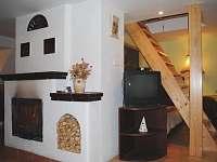 Západní apartmán - chalupa ubytování Březiny
