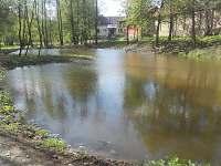 Rybník u mlýna - chalupa k pronajmutí Knínice