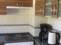 Kuchyně - chata ubytování Červená Řečice